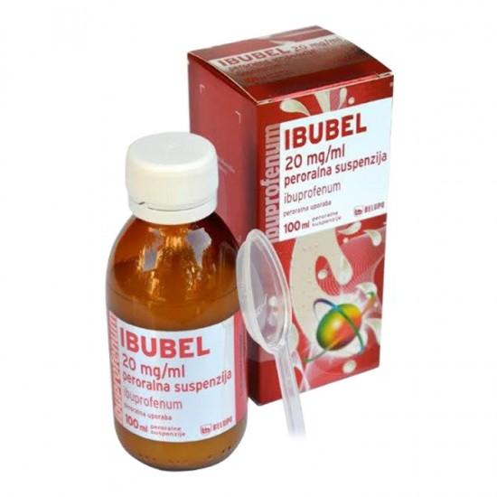 Ibubel 20 mg/ml, peroralna suspenzija Zdravila brez recepta