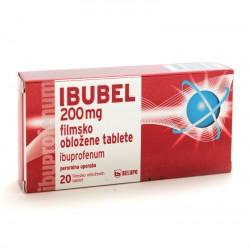 Ibubel 200 mg, filmsko obložene tablete