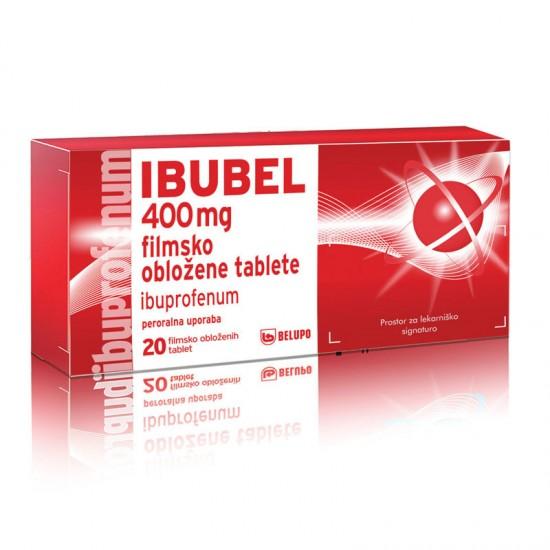 Ibubel 400 mg, filmsko obložene tablete Zdravila brez recepta