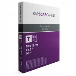Bapscarcare T, tanek silikonski obliž 10 x 15 cm