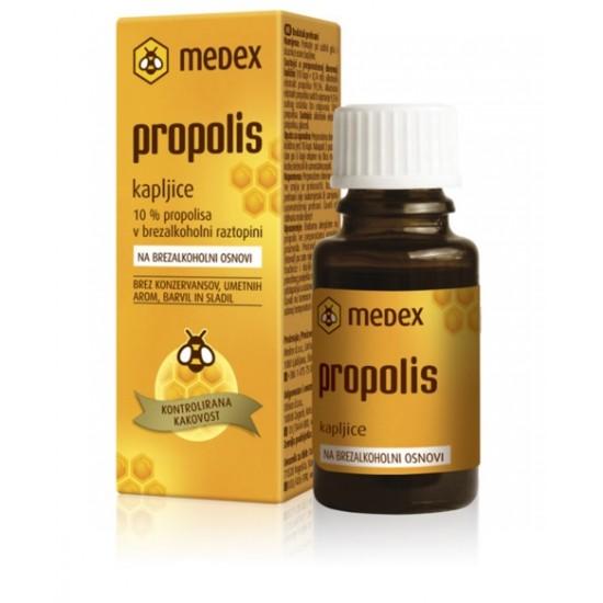 Medex, Propolis na brezalkoholni osnovi, kapljice Pripomočki in zaščita