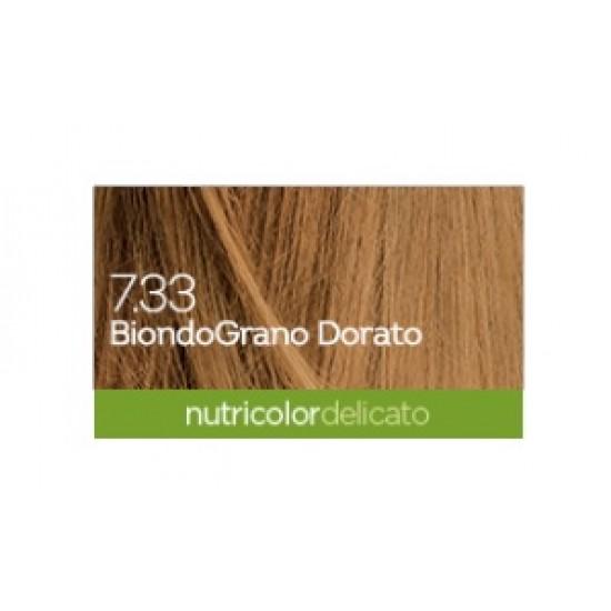 Biokap Nutricolor Delicato 7.33, barva za lase - pšenično blond Kozmetika