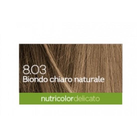 Biokap Nutricolor Delicato 8.03, barva za lase - naravno blond Kozmetika