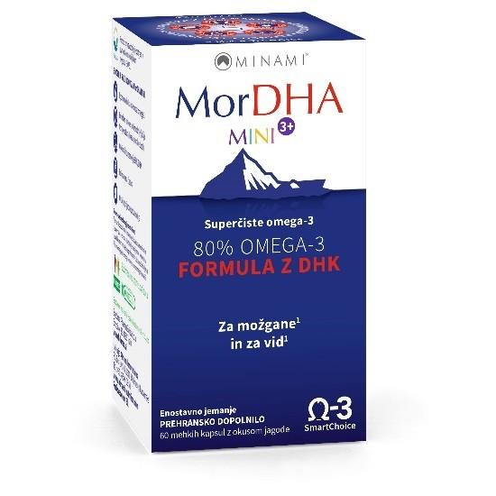 MorDHA Mini 3+, kapsule Prehrana in dopolnila