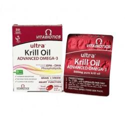 Ultra Krill Oil - omega 3 maščobe, kapsule